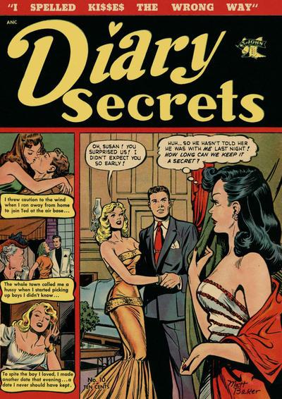 Cover for Diary Secrets (St. John, 1952 series) #10