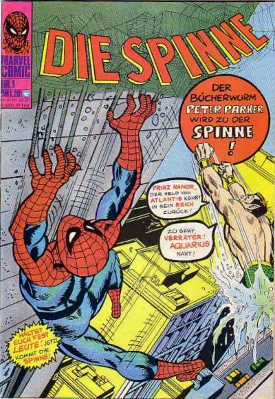 Cover for Die Spinne (BSV - Williams, 1974 series) #1