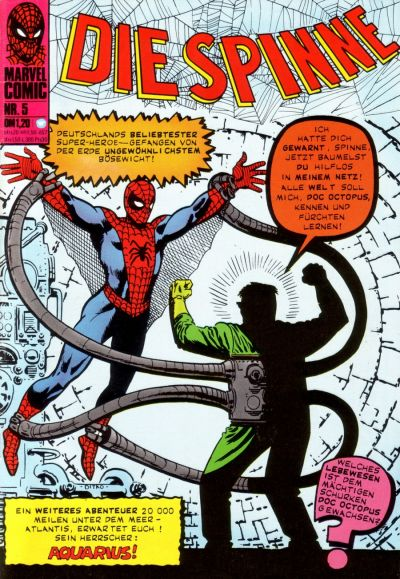 Cover for Die Spinne (BSV - Williams, 1974 series) #5