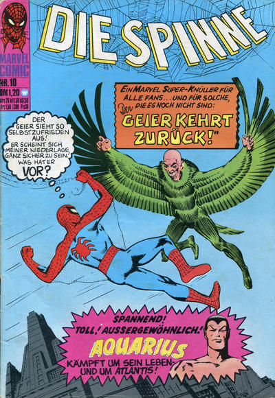 Cover for Die Spinne (BSV - Williams, 1974 series) #10