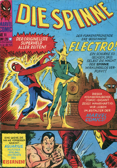 Cover for Die Spinne (BSV - Williams, 1974 series) #11