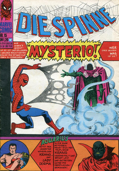 Cover for Die Spinne (BSV - Williams, 1974 series) #15