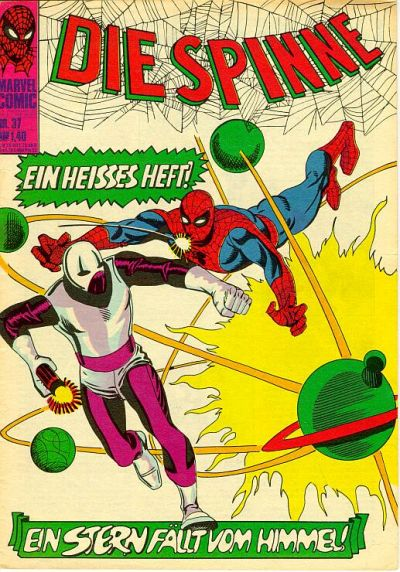 Cover for Die Spinne (BSV - Williams, 1974 series) #37