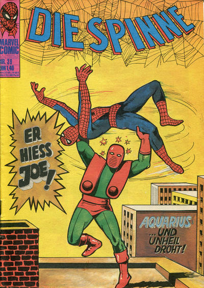 Cover for Die Spinne (BSV - Williams, 1974 series) #39