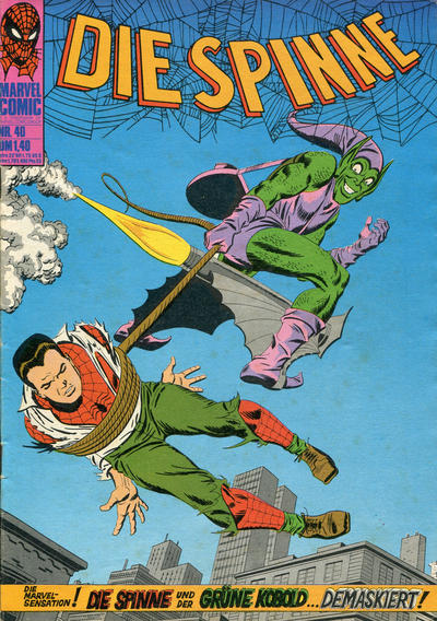 Cover for Die Spinne (BSV - Williams, 1974 series) #40
