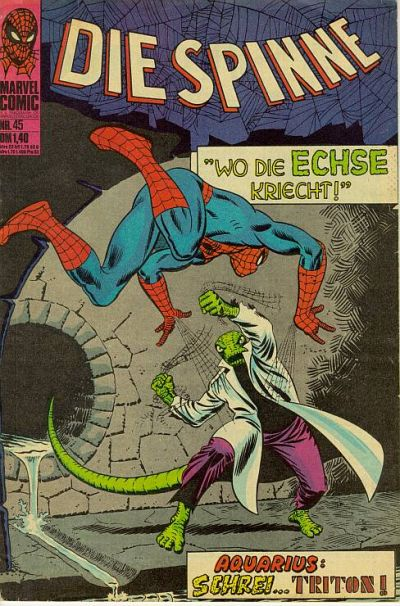Cover for Die Spinne (BSV - Williams, 1974 series) #45