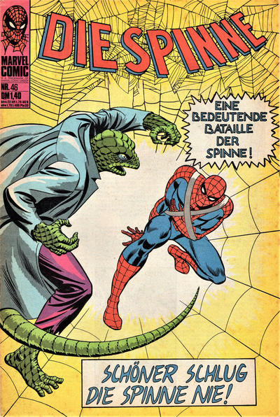 Cover for Die Spinne (BSV - Williams, 1974 series) #46