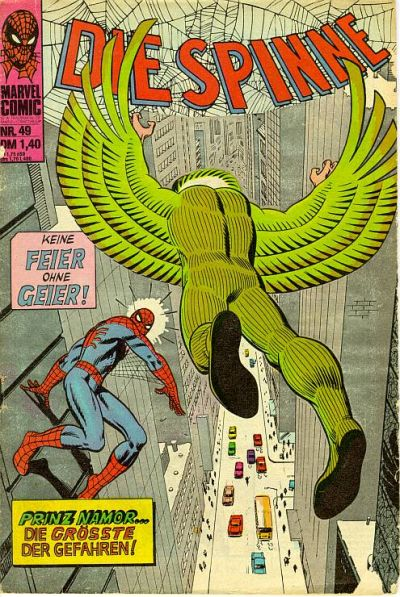 Cover for Die Spinne (BSV - Williams, 1974 series) #49