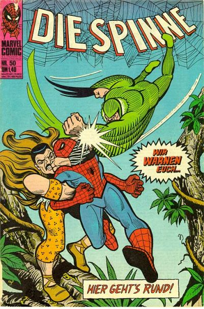 Cover for Die Spinne (BSV - Williams, 1974 series) #50