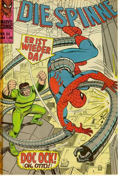 Cover for Die Spinne (BSV - Williams, 1974 series) #54