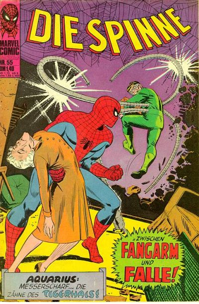 Cover for Die Spinne (BSV - Williams, 1974 series) #55