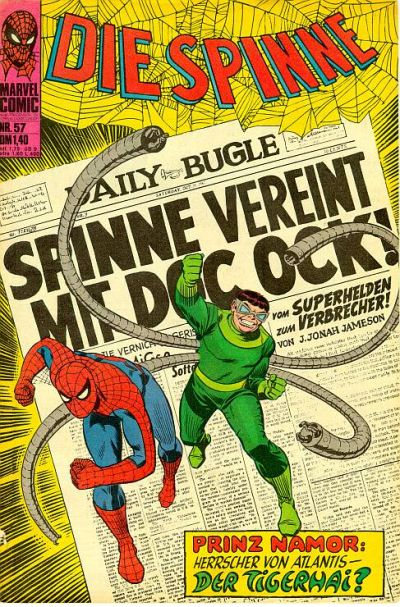 Cover for Die Spinne (BSV - Williams, 1974 series) #57