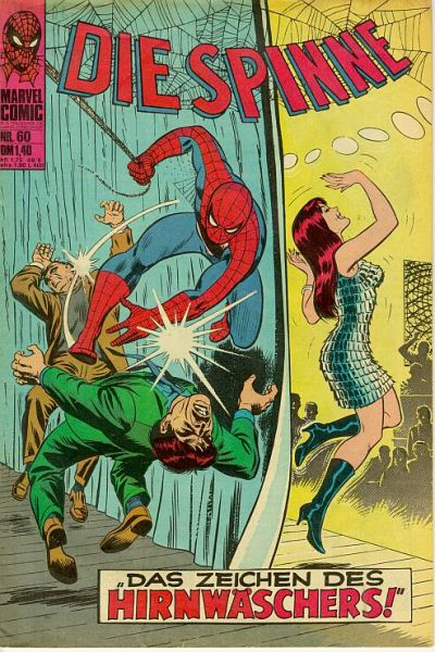 Cover for Die Spinne (BSV - Williams, 1974 series) #60