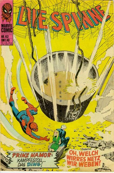 Cover for Die Spinne (BSV - Williams, 1974 series) #62