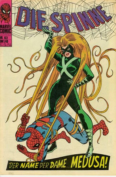Cover for Die Spinne (BSV - Williams, 1974 series) #63