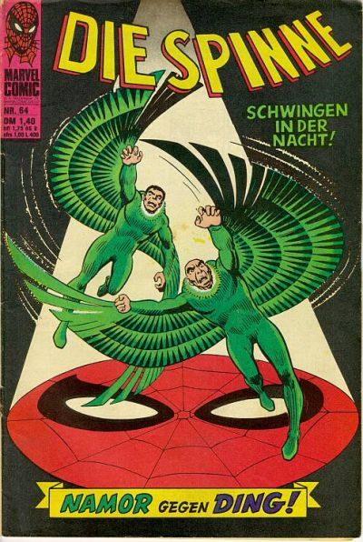Cover for Die Spinne (BSV - Williams, 1974 series) #64