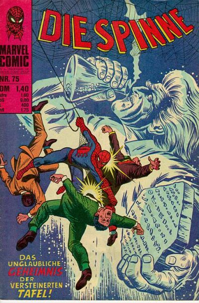 Cover for Die Spinne (BSV - Williams, 1974 series) #75