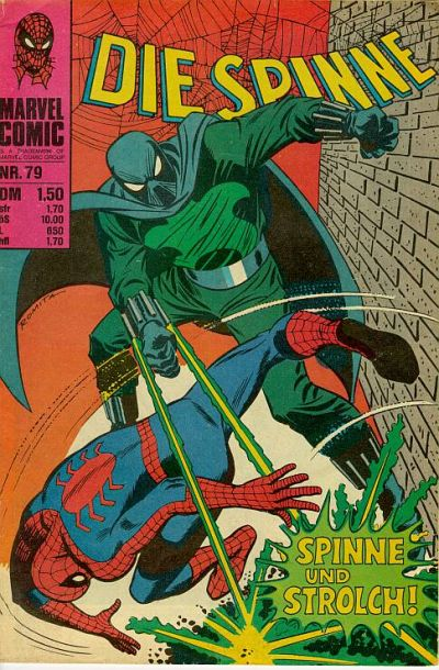 Cover for Die Spinne (BSV - Williams, 1974 series) #79