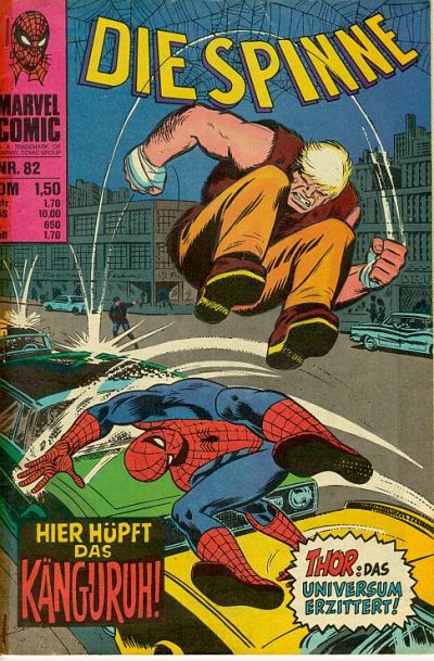 Cover for Die Spinne (BSV - Williams, 1974 series) #82