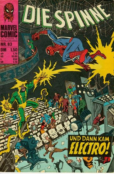 Cover for Die Spinne (BSV - Williams, 1974 series) #83