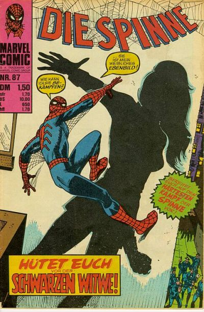 Cover for Die Spinne (BSV - Williams, 1974 series) #87