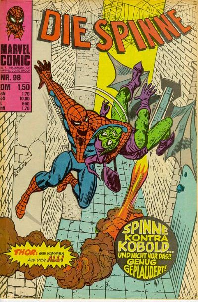 Cover for Die Spinne (BSV - Williams, 1974 series) #98