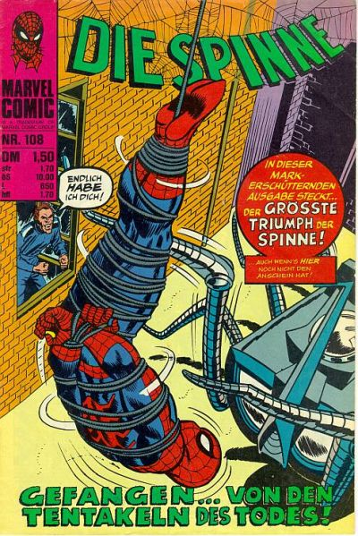 Cover for Die Spinne (BSV - Williams, 1974 series) #108