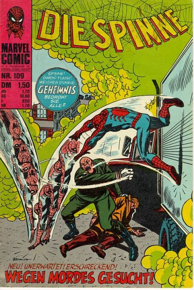 Cover for Die Spinne (BSV - Williams, 1974 series) #109