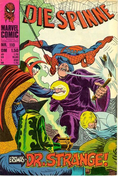 Cover for Die Spinne (BSV - Williams, 1974 series) #110