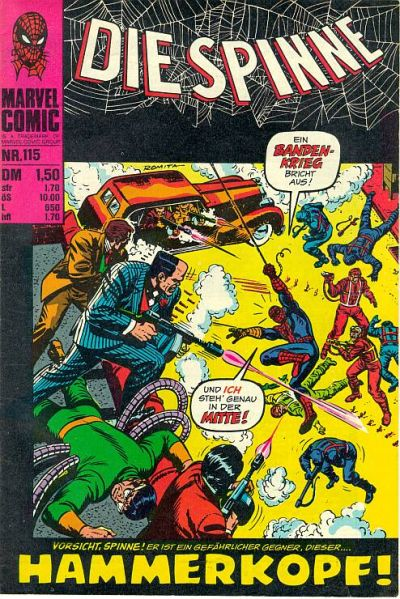 Cover for Die Spinne (BSV - Williams, 1974 series) #115