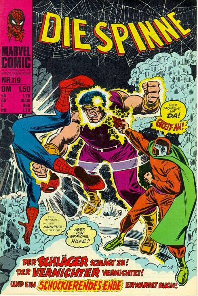 Cover for Die Spinne (BSV - Williams, 1974 series) #119