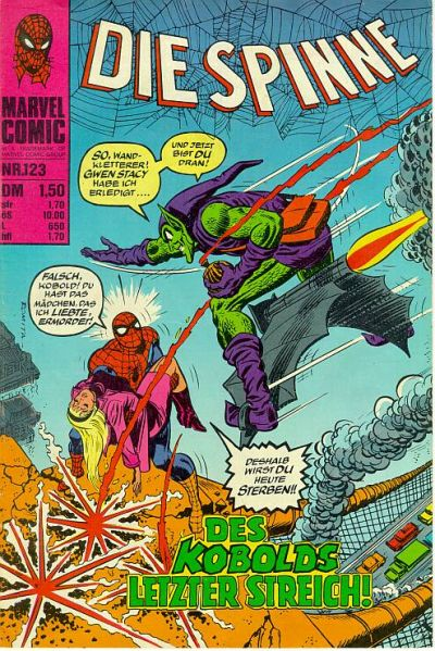 Cover for Die Spinne (BSV - Williams, 1974 series) #123