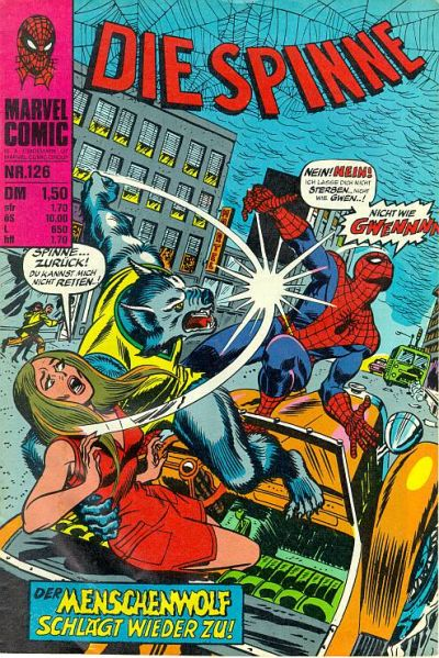 Cover for Die Spinne (BSV - Williams, 1974 series) #126