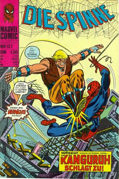 Cover for Die Spinne (BSV - Williams, 1974 series) #127