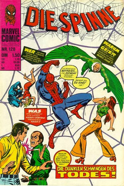 Cover for Die Spinne (BSV - Williams, 1974 series) #128