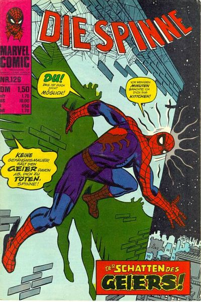 Cover for Die Spinne (BSV - Williams, 1974 series) #129