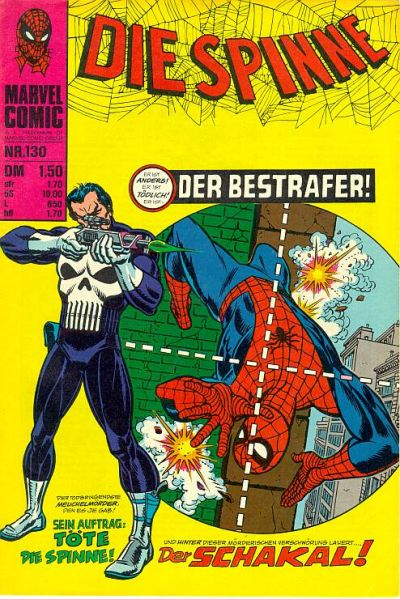 Cover for Die Spinne (BSV - Williams, 1974 series) #130