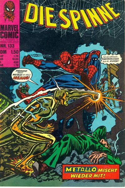 Cover for Die Spinne (BSV - Williams, 1974 series) #133