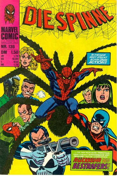 Cover for Die Spinne (BSV - Williams, 1974 series) #136