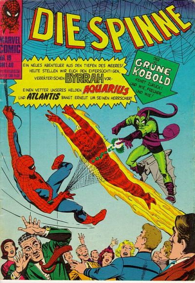 Cover for Die Spinne (BSV - Williams, 1974 series) #19