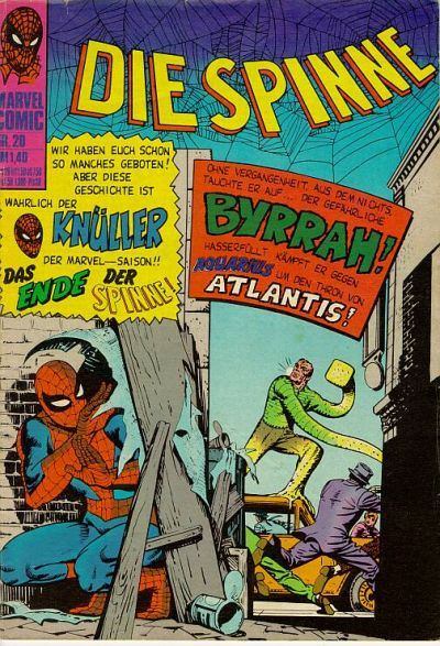 Cover for Die Spinne (BSV - Williams, 1974 series) #20