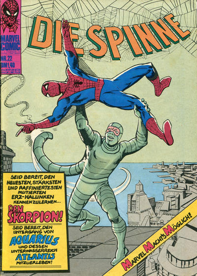 Cover for Die Spinne (BSV - Williams, 1974 series) #22