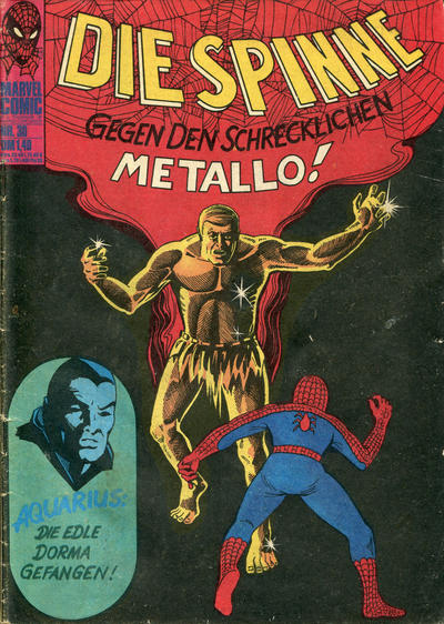 Cover for Die Spinne (BSV - Williams, 1974 series) #30