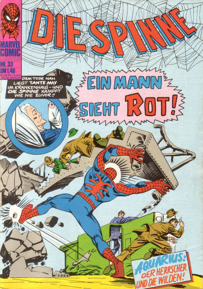 Cover for Die Spinne (BSV - Williams, 1974 series) #33