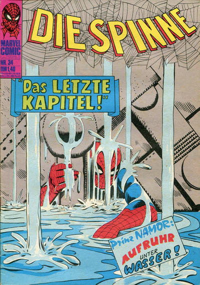Cover for Die Spinne (BSV - Williams, 1974 series) #34