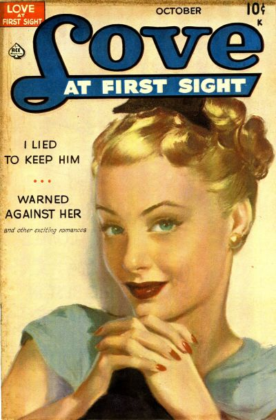 Cover for Love at First Sight (Ace Magazines, 1949 series) #1