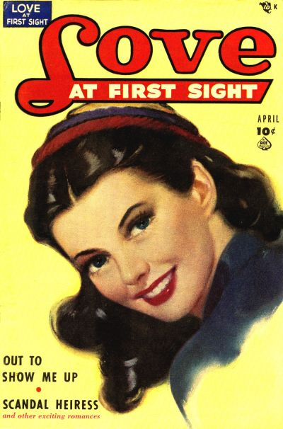 Cover for Love at First Sight (Ace Magazines, 1949 series) #4