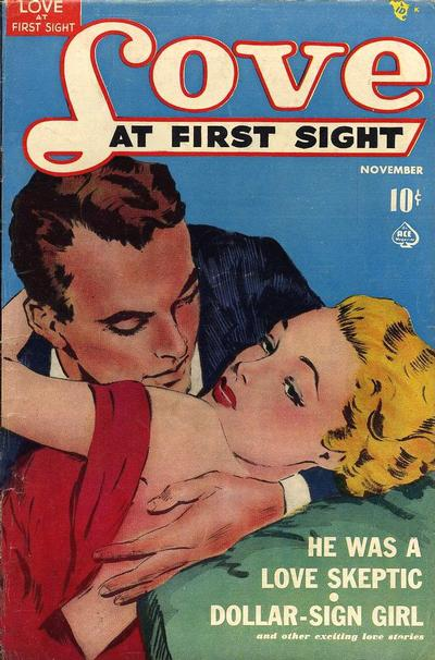 Cover for Love at First Sight (Ace Magazines, 1949 series) #6