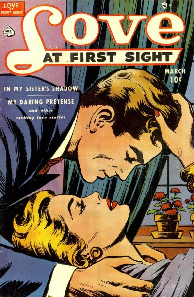 Cover for Love at First Sight (Ace Magazines, 1949 series) #8