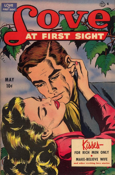 Cover for Love at First Sight (Ace Magazines, 1949 series) #9